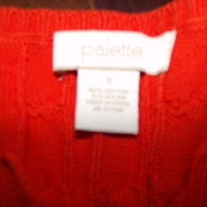 palette Sweaters - Orange sweater